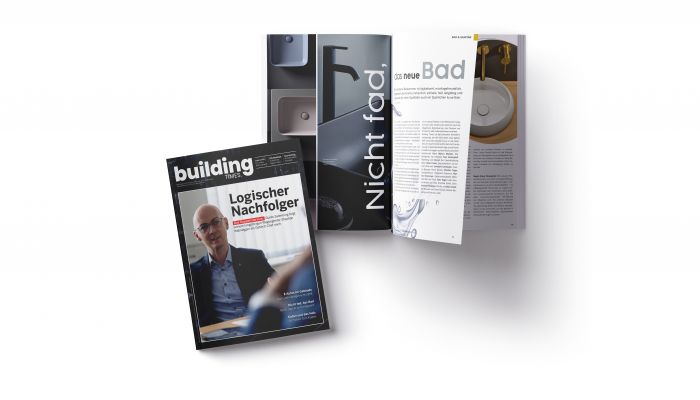 Building Times is a platform for building services, integrated planning, sustainable construction and facility management. Our readership includes architects, engineers, specialised planners, property developers, builders, representatives of public authorities and, of course, leading figures from the electrical engineering and heating, air-conditioning, ventilation and sanitation sectors. We analyse and comment on innovations and processes for integrated planning, sustainable construction, building services and facility management, and monitor the markets and their key players. The magazine is published ten times a year and has around 12,000 subscribers. In addition to the traditional print edition, there is an online platform updated daily, a newsletter and videos.